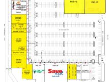 Northeast Town Center - 2 Pad Site retail space for lease Oklahoma City, OK site plan