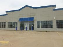 freestanding retail building for sale - 1410 NW 67th, Lawton, Ok front of building photo