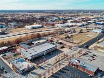 Available to Purchase retail building, Oklahoma City, OK aerial