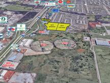 I-240 & S Sunnylane Rd - 3 Office/ Retail Land Parcels For Sale Oklahoma City, OK aerial