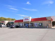 Shell Gas Station/Strip Center retail building for sale exterior photo