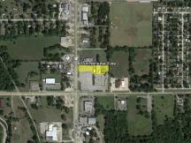 Retail land -0.87 Acres for Sale- E 46th St N & N Peoria Ave-Tulsa aerial