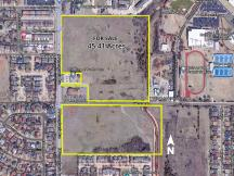 Land for sale at NW 115th & N Pennsylvania, Oklahoma City, OK -close up aerial