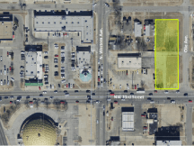 Aerial view of 1001 NW 23rd Land