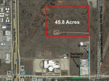 North of NW 27th and I-35 Land For Sale