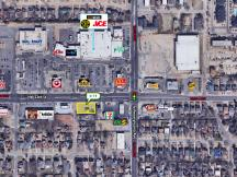 2124 NW 23rd St - For Sale, Ground Lease or Build To Suit pad site Oklahoma City, OK aerial
