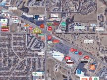 AERIAL OF SURROUNDING RETAILERS 8020 NW EXPY
